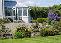 the conservatory outside